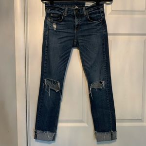 Woman's rag and bone Dre Jeans